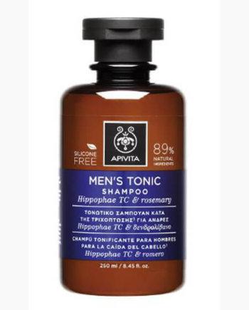 Apivita Τονωτικό Σαμπουάν Κατά της Τριχόπτωσης για Άνδρες με Ιπποφαές - Hippophae TC & Δεντρολίβανο 250ml