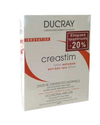 Ducray Creastim Lotion Για Τριχόπτωση 2 x 30ml