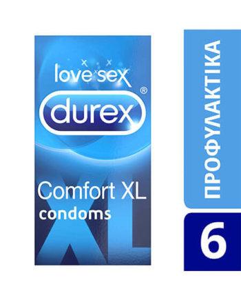 Durex Comfort XL Συσκευασία των 6 Τεμαχίων