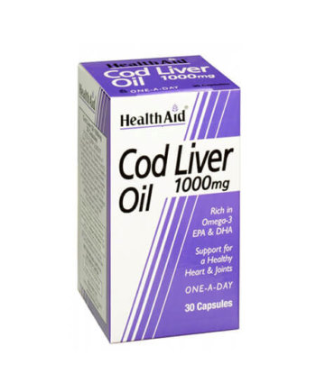 Health Aid Cod Liver Oil 30 caps