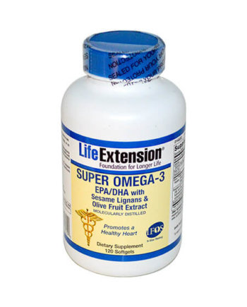 Life Extension SUPER OMEGA-3 EPA/DHA 120 softgel