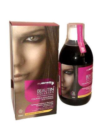 MY ELEMENTS - BeautIn Collagen Μάνγκο-Πεπόνι 500ml