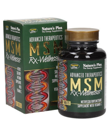 Nature's Plus MSM Rx-Wellness 60 tabs