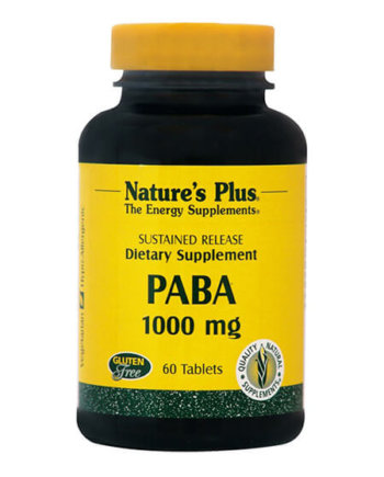 Nature's Plus PABA 1000mg S/R 60 tabs