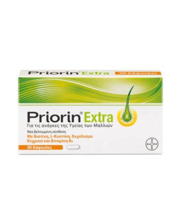 Priorin Extra σε συσκευασία των 30 καψουλών