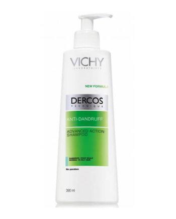 VICHY Dercos Αντιπιτυριδικό Σαμπουάν για Λιπαρά Μαλλία 390ml
