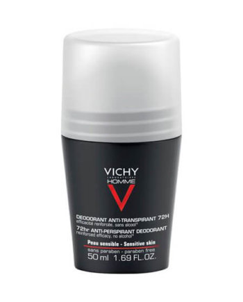 Vichy Homme Deodorant Roll On - 72 ώρες προστασία 50ml