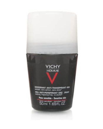 Vichy Homme Deodorant Sensitive Skin 48hr 50ml