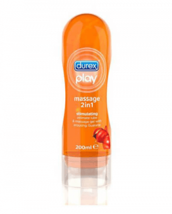 Durex Play Guarana Massage 2σε1 διεγερτικό, 200ml