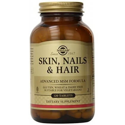 Solgar Skin, Nails & Hair Formula, 120 tabs