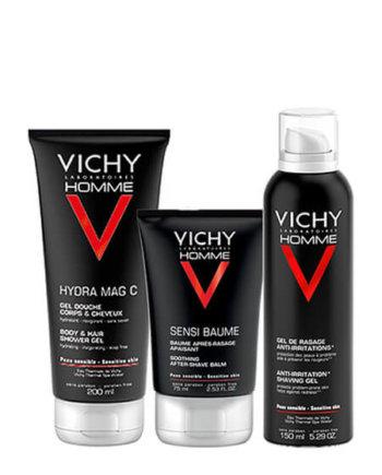 Vichy SENSIBAUME CA 75ml & Sensi Shave Anti Irritation Gel 150ml & VH GEL DOUCHE 200ml