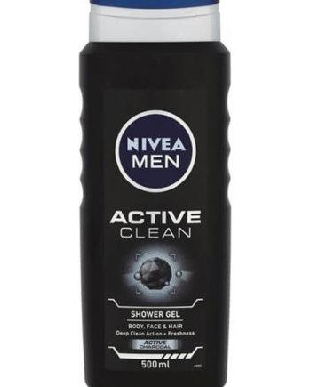 Nivea Active clean shower gel 500ml