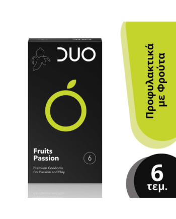 Duo Fruits Passion - Flavoured Με Γεύσεις 6 Τεμάχια