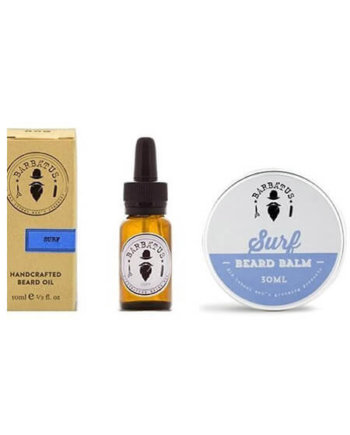 Barbatus Pack Surf Beard Oil 10ml & Beard Balm 30gr