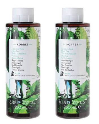 KORRES - Αφρόλουτρο με άρωμα Πράσινο Τσάι (1+1) ΔΩΡΟ | 2x250ml