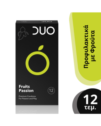 DUO  Fruits Passion Προφυλακτικά - 12τμχ