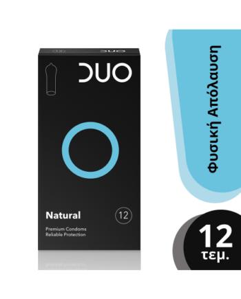 DUO  Natural Προφυλακτικό | 12τμχ