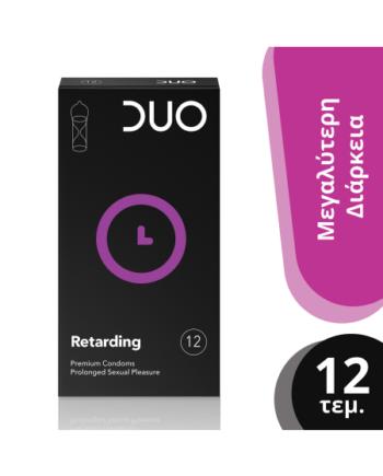 DUO Retarding Προφυλακτικά - 12τμχ