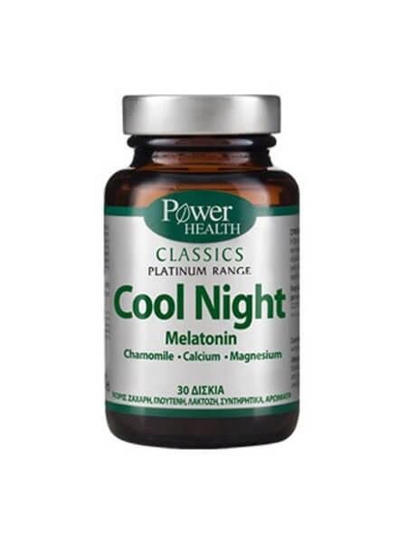 Power Health Classics Platinum Cool Night Melatonin 30 caps
