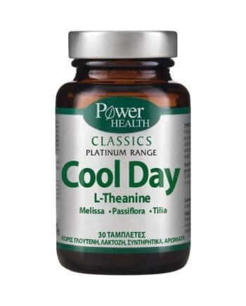 "Power Health ""Platinum"" Cool Day - Συμπλήρωμα Διατροφής για τον Έλεγχο της Διάθεσης, 30 tabs"