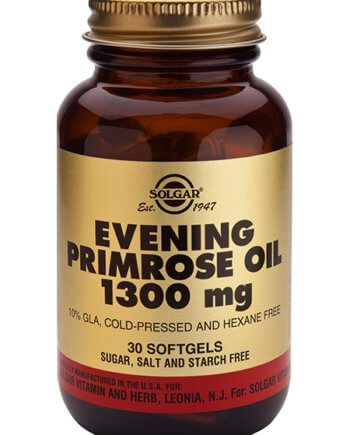 Solgar Evening Primrose Oil 1300mg 30 Sofgels