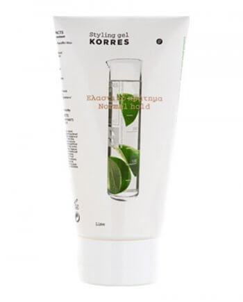 Korres Lime Styling Gel Normal Hold Normal Hold 150ml