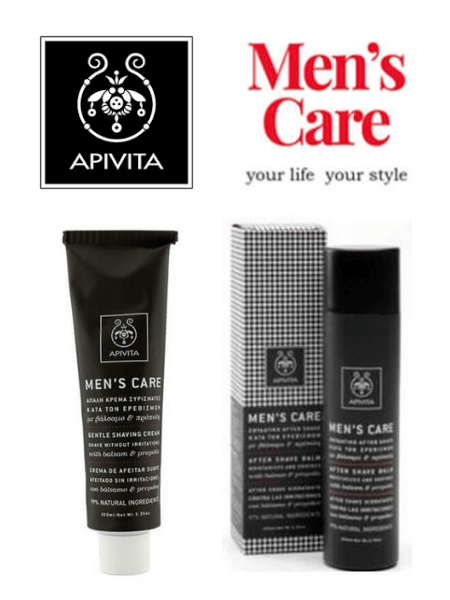 Apivita Men's care 'Σετ Ξυρίσματος'