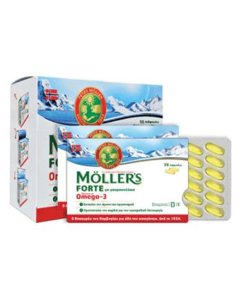Μoller's Forte Omega-3 150 κάψουλες