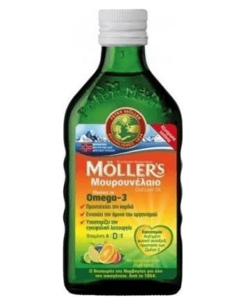 Moller's Tutti Frutti Cod Liver Oil 250ml