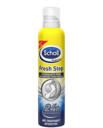 Scholl Fresh Step Αποσμητική Πούδρα Ποδιών και Υποδημάτων 75 γρ