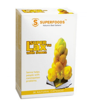 SuperFoods Super Lax with Senna, 30 κάψουλες