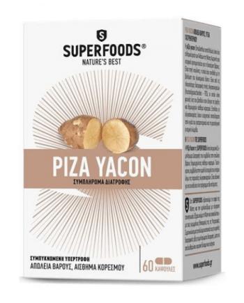 Superfoods Ρίζα Yacon, 60 κάψουλες