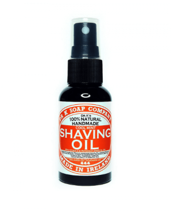 DR K Soap Shaving oil pepermint 100ml