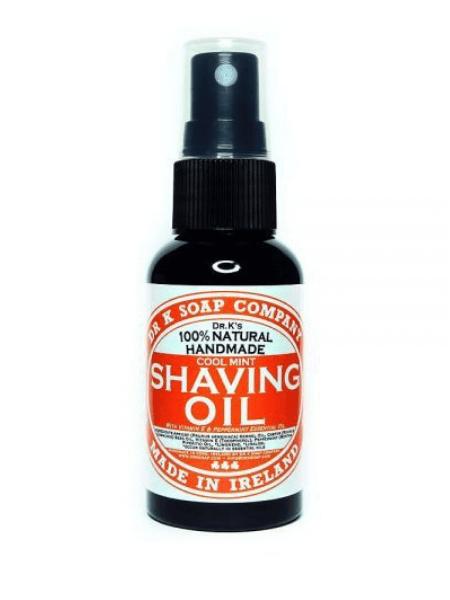Dr K Soap Shaving oil pepermint 50ml