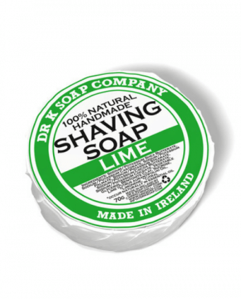 Dr K Soap Shaving Soap Lime 70g