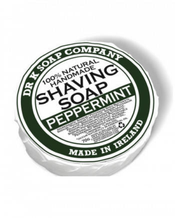 Dr K Soap Shaving Soap Peppermint 70g
