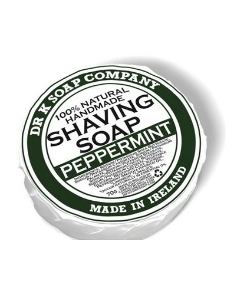 Dr K Soap Shaving Soap Peppermint 70g