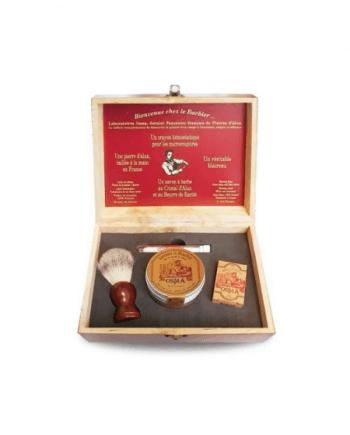 Osma Shaving Gift Set ( Σαπούνι Ξυρίσματος, Στυπτικό Μολύβι, Alum Stone 75g, Πινέλο Ξυρίσματος )