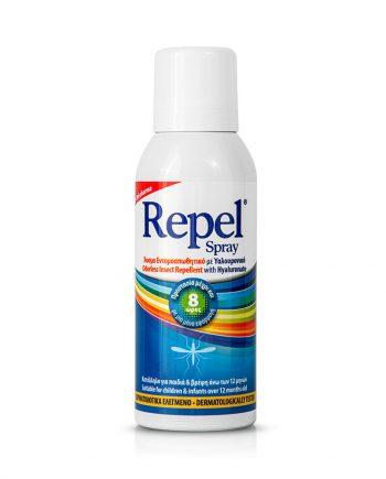Uni-Pharma Repel Spray Άοσμο 100ml