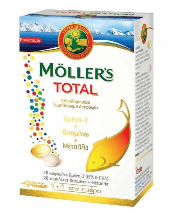 Moller's Total 28 ταμπλέτες και 28 κάψουλες