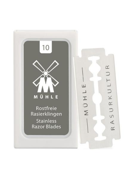 Muhle 10 Double Edge Blades for Safety Razors