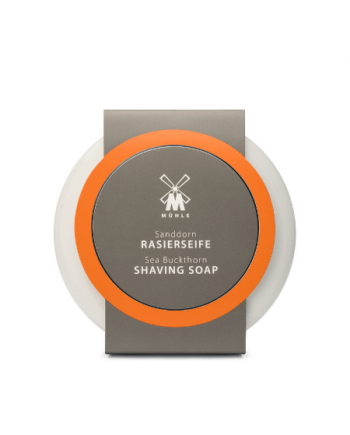 Muhle Sea Buckthorn Shaving Soap in Porcelain Bowl 65gr