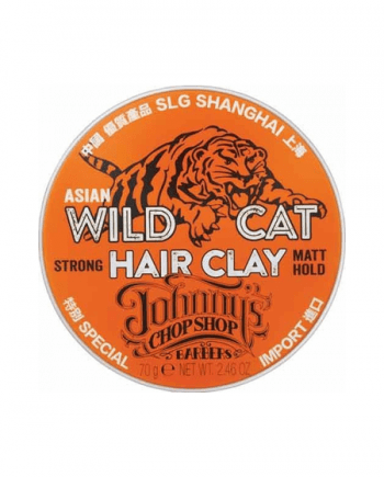 Johnny's Chop Shop - Wild Cat Hair Clay 70gr