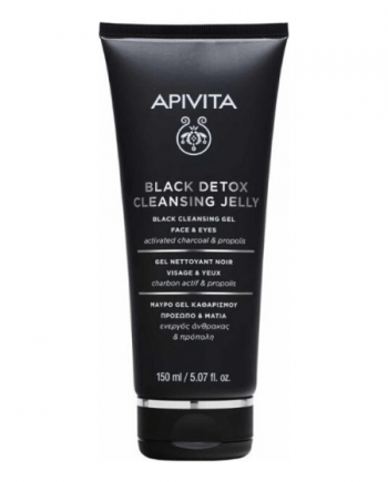 Apivita Black Detox Cleansing Jelly Face & Eyes 150ml