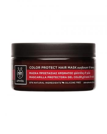 Apivita Hair Mask Προστασίας Χρώματος με Ηλίανθο & Μέλι 200ml