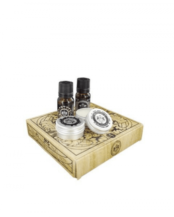Dear Barber Mini Grooming Kit Collection - Beard Balm 15ml -  Beard Oil 10ml - Moustache Wax 15ml - άρωμα With Confidence 10 ml