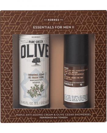 Greek Olive Cedar Set