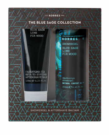 Korres The Blue Sage Collection - Αφρόλουτρο: 250mL & Aftershave Balsam: 200mL