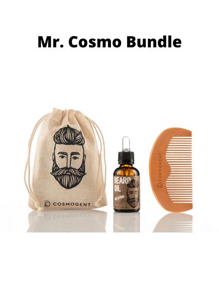 Cosmogent Mr. Cosmo Beard Oil 30ml & Beard Hair Comb
