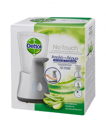 Dettol Αυτόματη Συσκευή Κρεμοσάπουνου και Ανταλλακτικό 250 ml